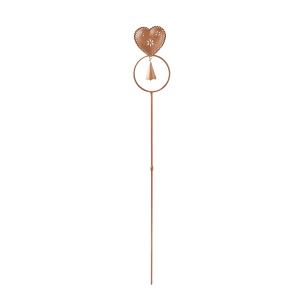 """Gartenstecker """"Herz"""" mit Glocke, Produktbild 1"""