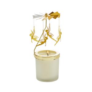 """Teelichthalter Karussell """"Engel"""", Produktbild 1"""