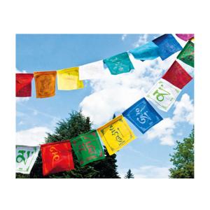 """Tibetische Gebetsfahnen """"8 Glückssymbole"""", Produktbild 1"""