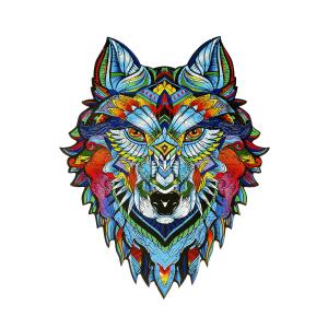 "Holzpuzzle ""Wolf"", Produktbild 1"