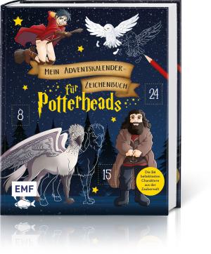 Mein Adventskalender-Zeichenbuch für Potterheads, Produktbild 1