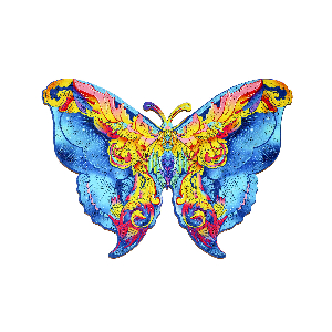"Holzpuzzle ""Schmetterling"", Produktbild 1"