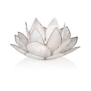 """Lotus-Licht """"Weißer Lotus"""", Produktbild 1"""