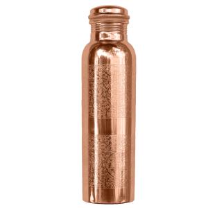 Kupfer-Wasserflasche graviert, Produktbild 1