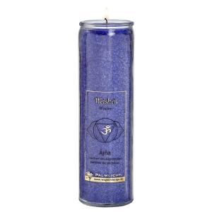 Kerze Ajna - Stirn-Chakra - indigo, Produktbild 1
