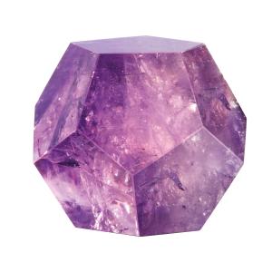 Dodekaeder aus Amethyst, Produktbild 1