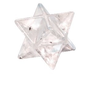 Merkaba aus Bergkristall, Produktbild 1