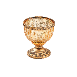 """Teelichthalter """"Goldkelch"""", Produktbild 1"""