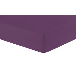 Jersey-Spannbetttuch, Violett, Produktbild 1