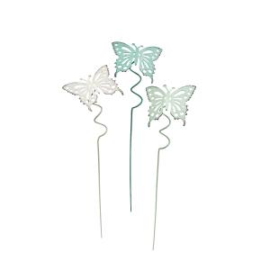 """Pflanzenstecker """"Schmetterlinge"""", 3er Set, Produktbild 1"""