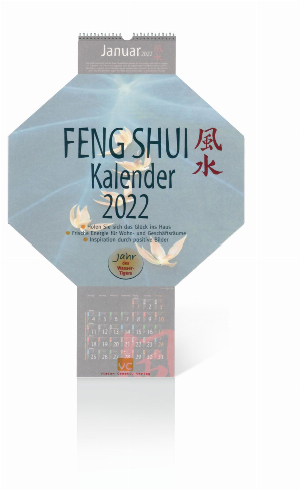 Feng-Shui-Kalender 2022, Produktbild 1