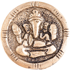 """Tempel Münze """"Ganeshas Schutz"""", Produktbild 1"""