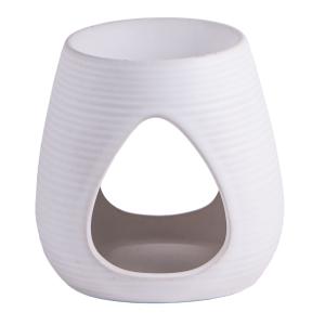 Keramik-Aromalampe, weiß, Produktbild 1