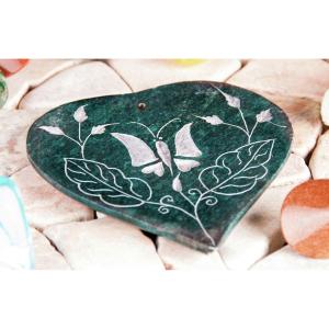 Räucherstäbchenhalter – Herz-Schmetterling , Produktbild 1