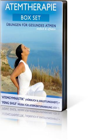 Atemtherapie Box – Set (2 CDs), Produktbild 1