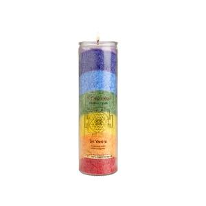 "Chakra-Kerze ""Sri Yantra"" multicolor, Produktbild 1"
