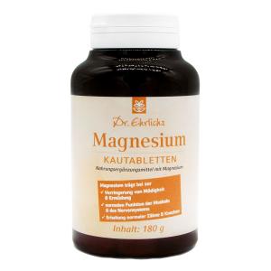Dr. Ehrlichs Nahrungsergänzungsmittel Magnesium-Kautabletten, Produktbild 1