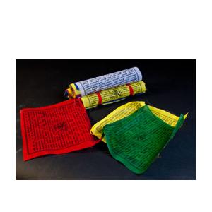 Tibetische Gebetsfahnen groß, Produktbild 1