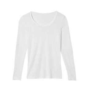 Bio-Seiden-Langarmshirt, Natur, Produktbild 1