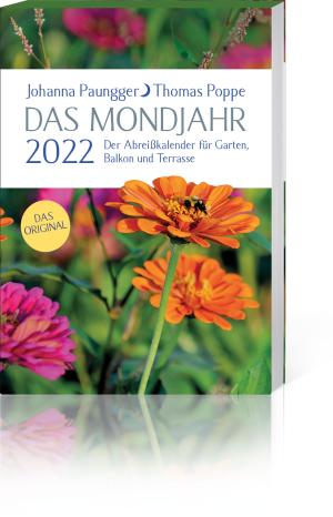 Das Mondjahr 2022 – Der Abreißkalender für Garten, Balkon und Terrasse, Produktbild 1