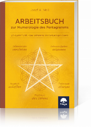Arbeitsbuch zur Numerologie des Pentagramms, Produktbild 1