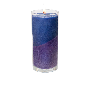"Aura-Soma® Kerze ""Friedvolle Kommunikation"", Produktbild 1"