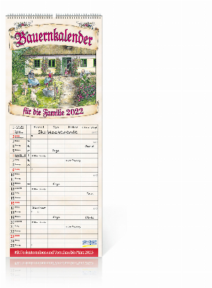 Bauernkalender 2022, Produktbild 1
