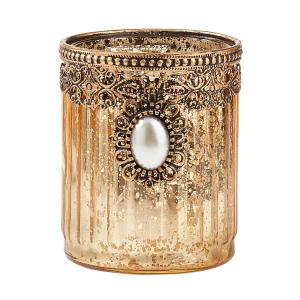 """Teelichthalter """"Goldlicht"""", Produktbild 1"""