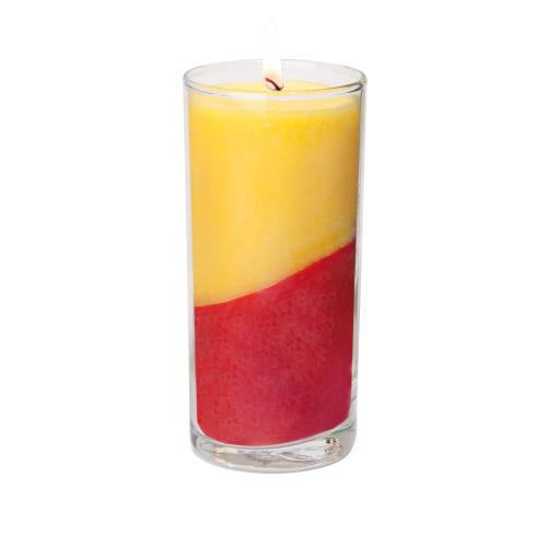 """Aura-Soma® Kerze """"Sonnenaufgang und -untergang"""", Produktbild 1"""