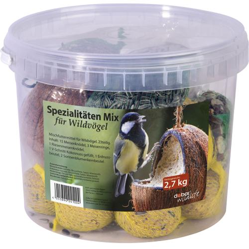 Vogelfutter, Spezialitäten-Mix, 23-teilig, Produktbild 2