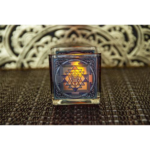 """Teelichthalter """"Shri Yantra"""", Produktbild 3"""