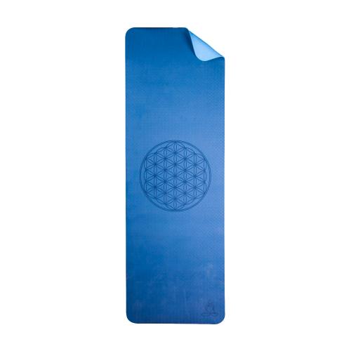 Yoga Matte aus TPE, Blau, Produktbild 1