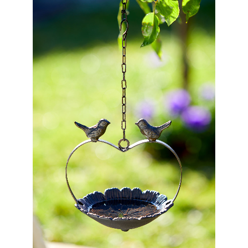 """Vogeltränke """"Blüte mit Vögelchen"""" , Produktbild 2"""