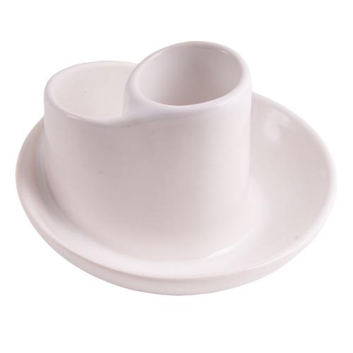 Räucherschale für Weißen Salbei, Weiß, Produktbild 1
