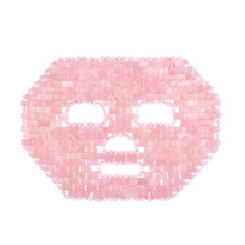 Rosenquarz-Gesichts-Maske, Produktbild 1