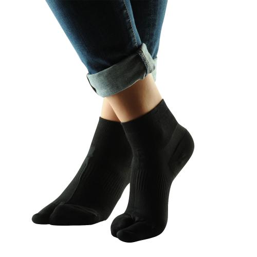 Hallux-Valgus-Socken , Schwarz, Produktbild 6