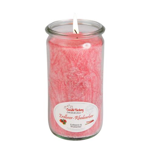 """Duftkerze """"Erdbeer-Rhabarber"""", Produktbild 1"""