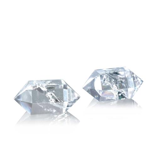 """Bergkristall-Meditations-""""Diamanten"""", 2er Set, Produktbild 1"""
