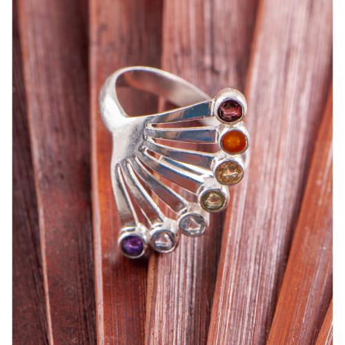 """Ring """"Chakra Fächer"""", Produktbild 1"""
