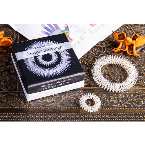 Akupressur Ringe Massage Set, Produktbild 2
