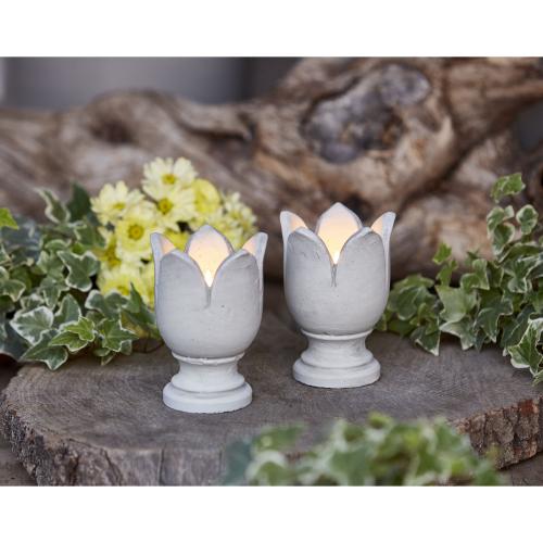 "Teelichthalter ""Tulpe"", 2er Set, Produktbild 2"