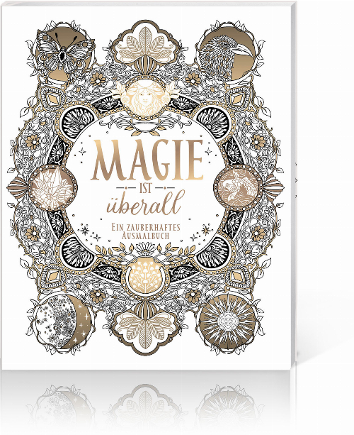 Magie ist überall – Ein zauberhaftes Ausmalbuch, Produktbild 1