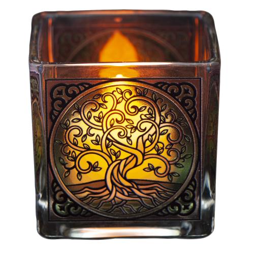 """Teelichthalter """"Lebensbaum"""", Produktbild 1"""