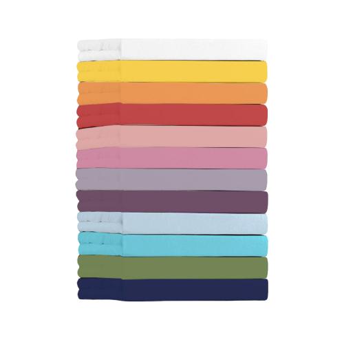 Jersey-Spannbetttuch, Pink, Produktbild 2