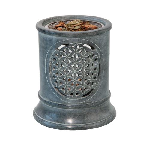 """Aromalampe & Räucherstövchen """"Blume des Lebens"""", Produktbild 2"""