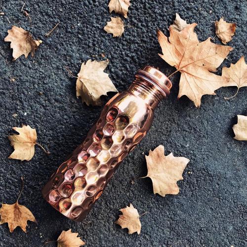 """Kupfer-Wasserflasche """"Diamant"""" , Produktbild 2"""