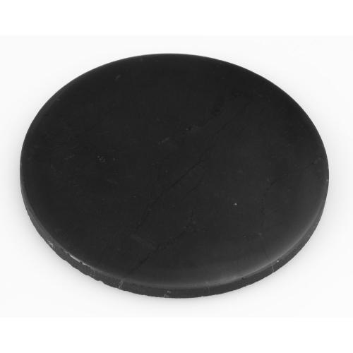 Schungit-Plättchen, rund, Produktbild 3
