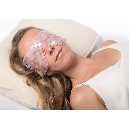 Rosenquarz-Augenmaske, Produktbild 4