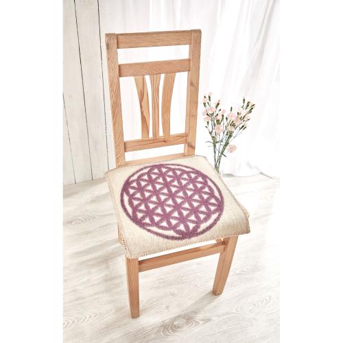 """Sitzauflage """"Blume des Lebens"""", Produktbild 3"""