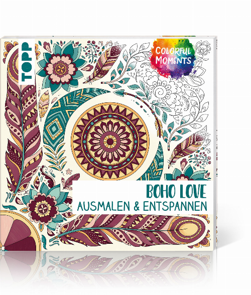 Colorful Moments – Boho Love, Produktbild 1